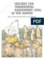 Guidelines for EIA in the Arctic