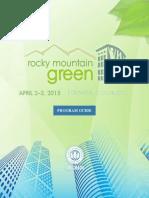 Rocky Mountain Green 2015 Program Guide