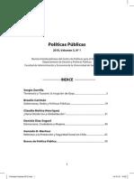 Rev Políticas Públicas