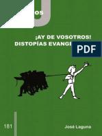 CJ 181, ¡Ay de vosotros distopías evangélicas! - José Laguna