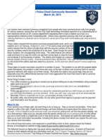 Seattle Police Email Newsletter132