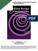 Pipeline Design Construction Practical Pipelines