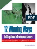 12 Winning Ways RR