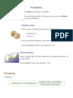 4.1 Probability