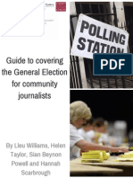 General Election Guide for Community Journalists
