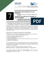 7 - Respuesta Del Proyecto a Los Cambios II