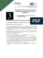 3 - Revisión y Ajuste Del Plan Del Prpoyecto
