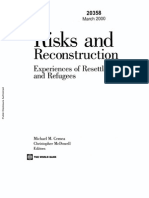 Risk and Reconstruction - Experiences of Resettlers and Refugees