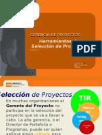 Session 04 - Herramientas de Seleccion de Proyectos