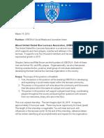 USBOXLA Social Media and Journalism Intern Doc