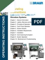 Glovebox Operating Instructions Mbraun