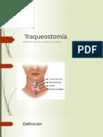 traqueostomia tecnica