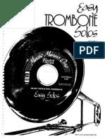 Easy Trombone Solos Volumen 1