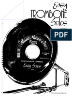 Easy Trombone Solos Volumen 1