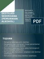 Destilasi Sederhana