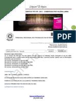 Trt Ba 5ª 2013 Comentada 08 Questões e Editais Esquematizados