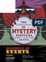 The Compass of Mystery Festival Programme (2008)
