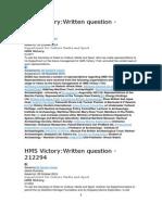 HMS Victory PQ Response 5 Nov 2