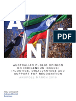 Indigenous Issues ANU Poll 2015