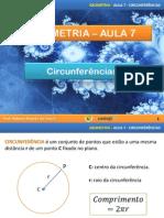 Angulo Na Circunferencia