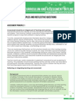 k-10 outline assess princ reflective questions v9