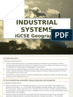igcse industry