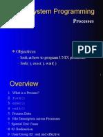 Processes UNIX