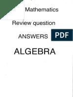 HL Algebra Review Questions (Original)