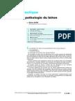 Béton Hydraulique-Durabilité Et Pathologie Du Béton