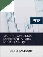Las 10 Claves Mas Importantes Para Invertir Online