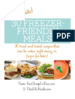 Favorite Freezer-Friendly Meals Book