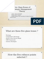 Five Glass Bones of Strategic Management Theory
