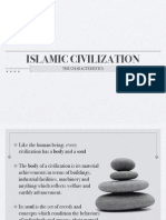 The Characteristics of Islamic Civilization
