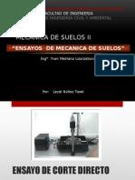ENSAYOS DE MECANICA DE SUELOS