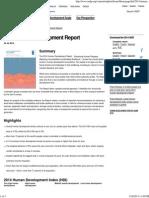 2014 Human Development Report _ UNDP