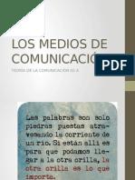 Los Medios de Comunicación y El Trabajo Social