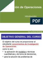 Investigacion de Operaciones Introduccion