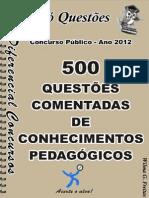 1758_conhecimentos Pedagógicos- 500 Questões Comentadas