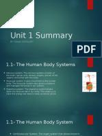 unit 1 summary
