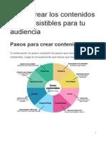 Cómo crear los contenidos más irresistibles para tu audiencia
