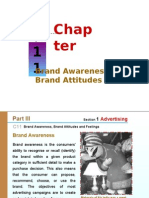 Chap Ter 1 1 Brand Awareness,