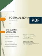 Poema Al Normalista