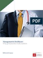 Management Matters HOSPITAL