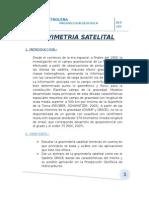 GRAVIMETRIA SATELITAL EXTERNA