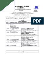 Programa Operativo Discurso y Sociedad 2014