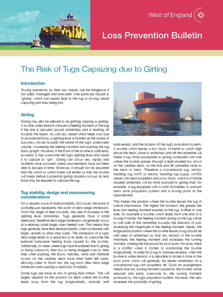 Girding Of Tug Boat Tugboat Stern Wiring Diagram