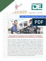 BOLETIN EDICION 11 EDUCACION OCUPACIONAL