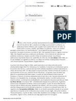 _ _ _ _ _ Charles Baudelaire _ _ _ _