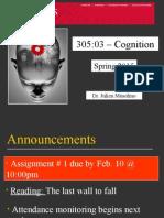 Lecture 1 Cognition