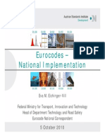 20101005 Austrain Eurocodes National Implementation_Bridges_SpecialSession_Eichinger-Vill